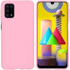 iMoshion Cover Color Samsung Galaxy M31s - Rosa