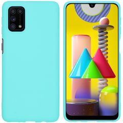 iMoshion Cover Color Samsung Galaxy M31s - Verde menta