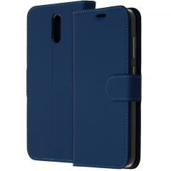 Accezz Custodia Portafoglio Flessibile Nokia 2.3 - Blu
