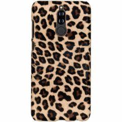 Cover Leopardato Huawei Mate 10 Lite - Marrone