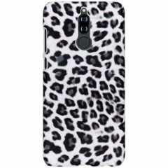 Cover Leopardato Huawei Mate 10 Lite - Bianco