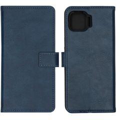 iMoshion Custodia Portafoglio de Luxe Motorola Moto G 5G Plus - Blu scuro