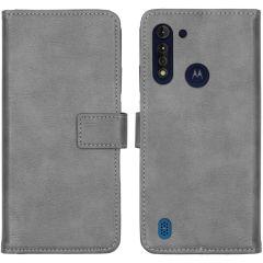 iMoshion Custodia Portafoglio de Luxe Motorola Moto G8 Power Lite - Grigio