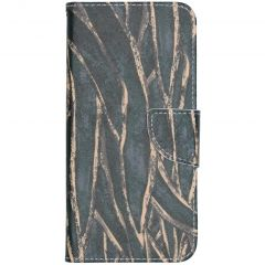 Custodia Portafoglio Flessibile Nokia 2.3 - Wild Leaves