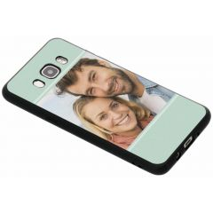 Cover Flessibile Personalizzate Samsung Galaxy J5 (2016) - Nero
