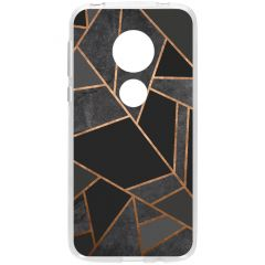 Cover Design Motorola Moto G7 Play - Black Graphic