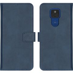 iMoshion Custodia Portafoglio de Luxe Motorola Moto E7 Plus / G9 Play - Blu scuro