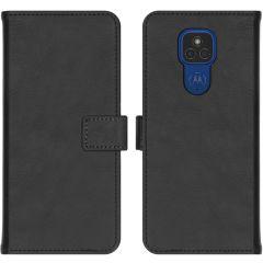 iMoshion Custodia Portafoglio de Luxe Motorola Moto E7 Plus / G9 Play - Nero