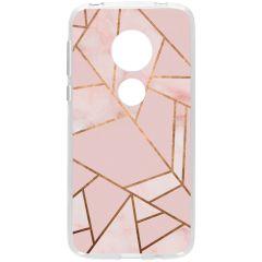 Cover Design Motorola Moto G7 Play - Pink Graphic