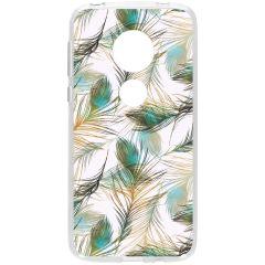 Cover Design Motorola Moto G7 Play - Golden Peacock