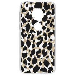 Cover Design Motorola Moto G7 Play - Panther Black / Gold