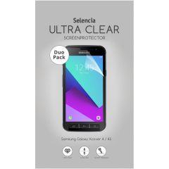 Selencia Pellicola Protettiva Ultra Trasparente Duo Pack Samsung Galaxy Xcover 4 / 4S