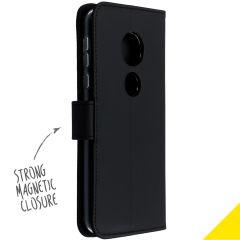 Accezz Custodia Portafoglio Flessibile Motorola Moto E5 / G6 Play - Nero