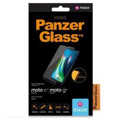 PanzerGlass Pellicola Protettiva Compatibile con la Custodia Motorola Moto E7 Plus / G9 Play