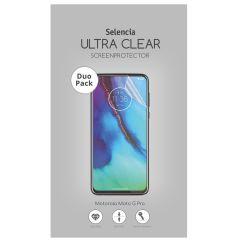 Selencia Pellicola Protettiva Ultra Trasparente Duo Pack Motorola Moto G Pro