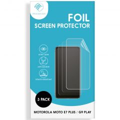 iMoshion Pellicola Protettiva Trasparente 3 Pezzi Motorola Moto E7 Plus / G9 Play