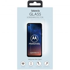Selencia Pellicola Protettiva in Vetro Temperato Motorola One Vision