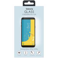 Selencia Pellicola Protettiva in Vetro Temperato Samsung Galaxy J4 Plus / J6 Plus