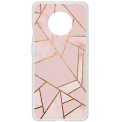 Cover Design OnePlus 7T - Pink Graphic