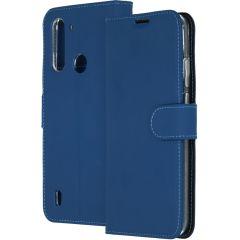 Accezz Custodia Portafoglio Flessibile Motorola Moto G8 Power Lite - Blu