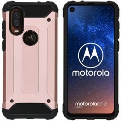 iMoshion Cover Robusta Xtreme Motorola One Vision - Rosa
