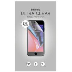 Selencia Pellicola Protettiva Ultra Trasparente Duo Pack Motorola Moto G7 / G7 Plus