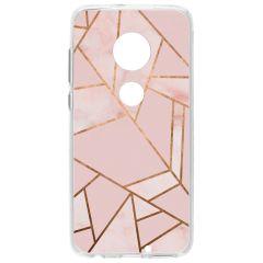 Cover Design Motorola Moto G7 / G7 Plus - Pink Graphic
