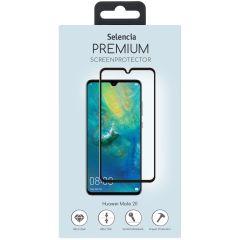 Selencia Pellicola Protettiva Premium in Vetro Temperato Huawei Mate 20 - Nero
