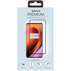 Selencia Pellicola Protettiva Premium in Vetro Temperato OnePlus 8 Pro - Nero