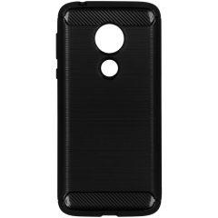 Cover Spazzolata Motorola Moto G7 Power - Nero