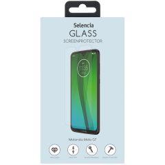 Selencia Pellicola Protettiva in Vetro Temperato Motorola Moto G7 / G7 Plus