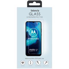 Selencia Pellicola Protettiva in Vetro Temperato Motorola Moto G8 Power Lite