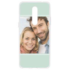 Cover Flessibile Personalizzate OnePlus 8 - Trasparente