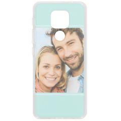Cover Flessibile Personalizzate Motorola Moto E7 Plus / G9 Play - Trasparente