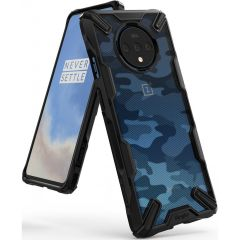 Ringke Fusion X Design Cover OnePlus 7T - Camo Black