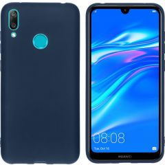 iMoshion Cover Color Huawei Y7 (2019) - Blu scuro