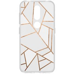 Cover Design Nokia 4.2 - White Graphic
