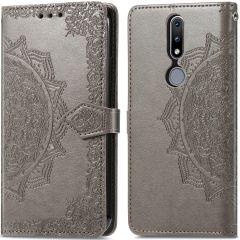 iMoshion Custodia Portafoglio Mandala Nokia 2.4 - Grigio