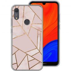 iMoshion Cover Design Huawei Y6s - Pink Graphic