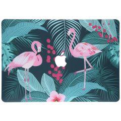 Custodia Rigida Design  MacBook Pro 13 inch (2016-2019) - Flamingo