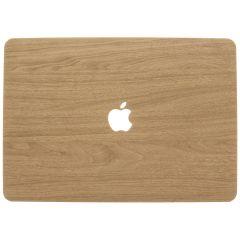 Custodia Rigida Design MacBook Pro 13 inch (2016-2019) A1706 - A1708 - A1989 - Light Brown Wood