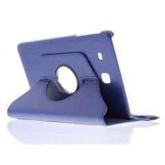 Custodia a Libro Girevole 360° Samsung Galaxy Tab E 9.6 - Blu scuro