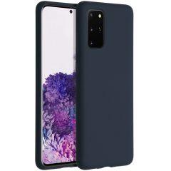 Accezz Cover in Silicone Liquido Samsung Galaxy S20 Plus - Blu