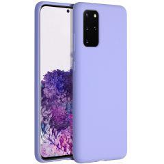 Accezz Cover in Silicone Liquido Samsung Galaxy S20 Plus - Viola