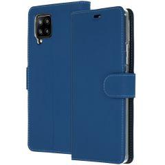 Accezz Custodia Portafoglio Flessibile Samsung Galaxy A42 - Blu scuro