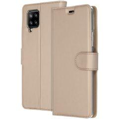 Accezz Custodia Portafoglio Flessibile Samsung Galaxy A42 - Oro