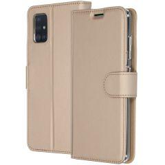 Accezz Custodia Portafoglio Flessibile Samsung Galaxy A51 - Oro