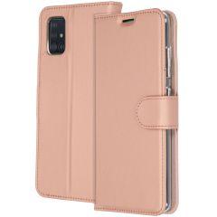 Accezz Custodia Portafoglio Flessibile Samsung Galaxy A51 - Rosa