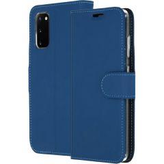 Accezz Custodia Portafoglio Flessibile Samsung Galaxy S20 - Blu