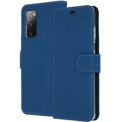 Accezz Custodia Portafoglio Flessibile Samsung Galaxy S20 FE - Blu scuro